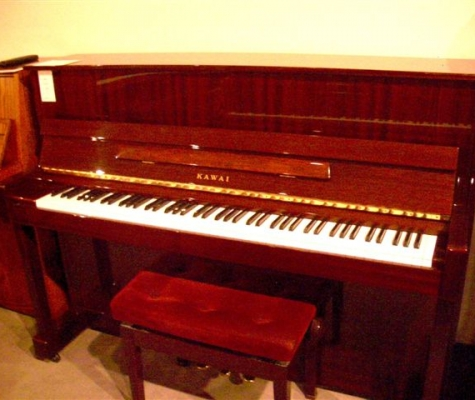 Mahogany KAWAI Studio Upright Piano in Seattle