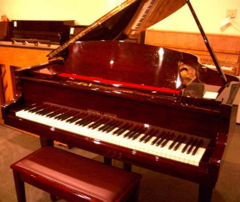 Mahogany MARSHALL & JOHNSTON 66in Grand Piano