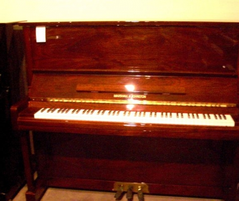 Re-exposure of Mahogany MARSHALL & JOHNSTON Prof. Upright (2)