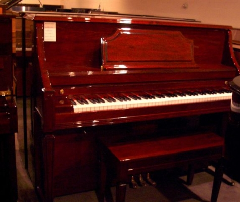 Story & Clark Mahogany Console Piano for Sale in Seattle