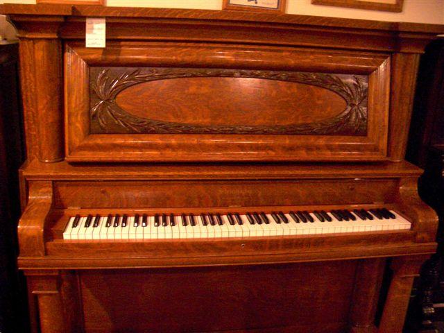 Oak Steinhauer Classic Upright Piano
